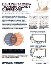 thumbnail of High Performing Titanium Dioxide Dispersions