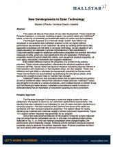 thumbnail of New Development in Ester Technology