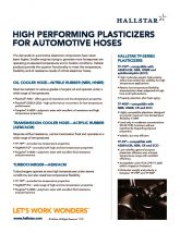 thumbnail of High Performing Plasticizers for Automotive Hoses
